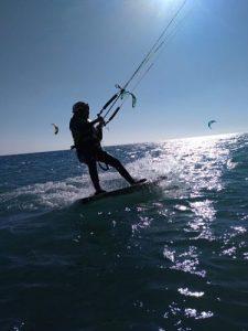 kitesurf clases chicas