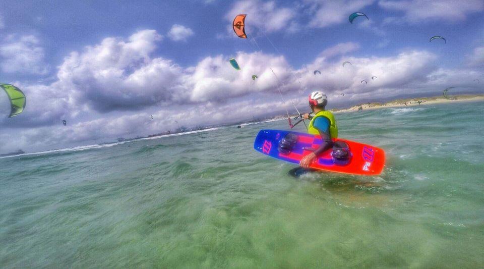 how to ride kitesurf