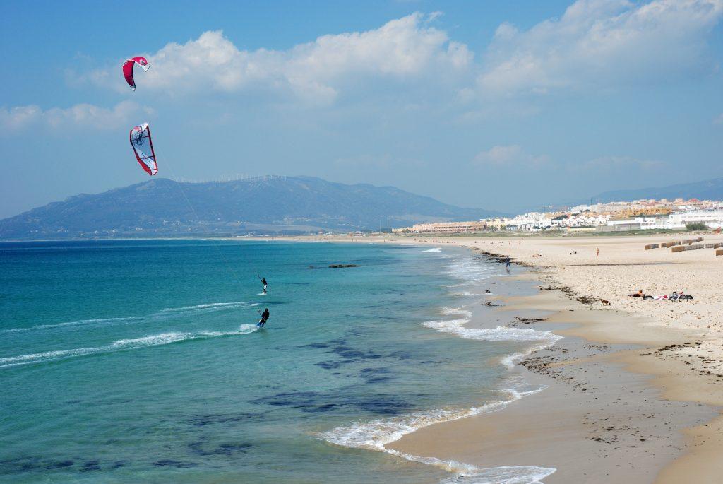 Kitesurf at Balneario Tarifa