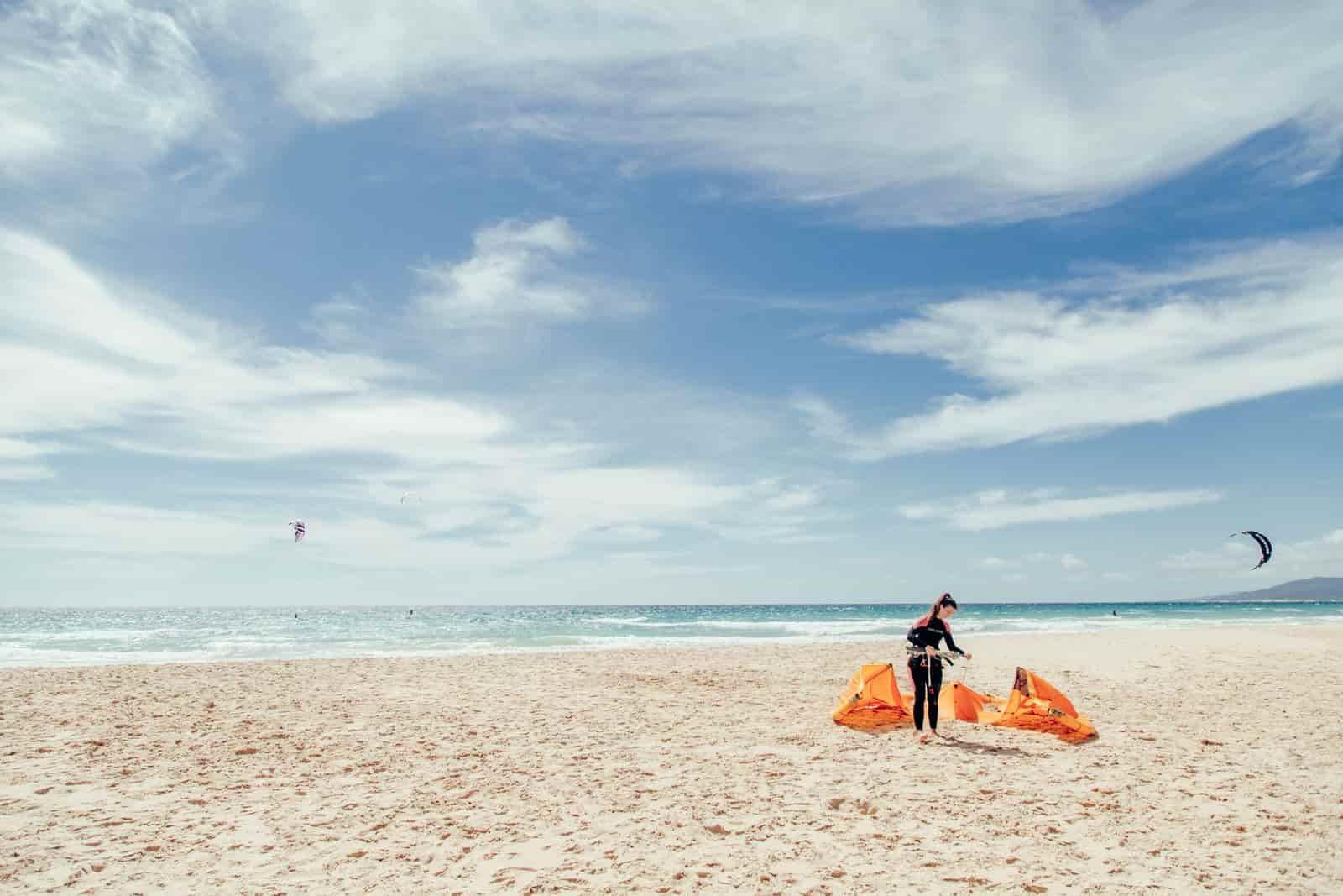 kiteboarding tarifa covid 19