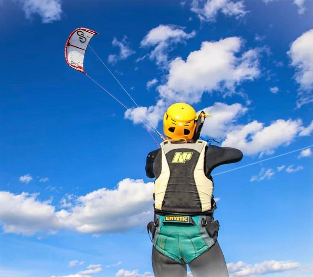 normas de paso y preferencias para kitesurf