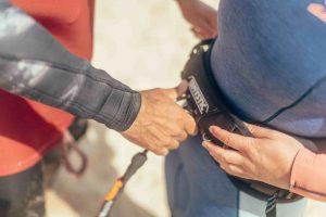kitesurf leash